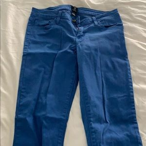 Blue colored jeans